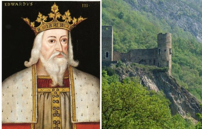 Английский король Эдуард III, начавший Столетнюю войну.